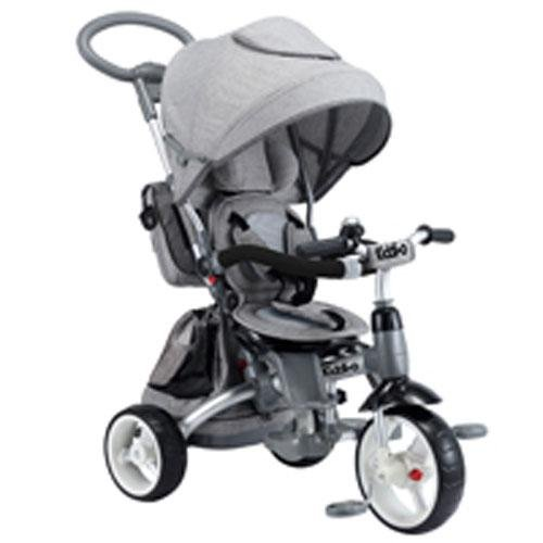 Kiddi-o by Kettler 6-in-1 Ride: Safe Stroller and Multi-Trike, Gray, Youth Ages 2.5+ by Kiddi-o (Image #1)