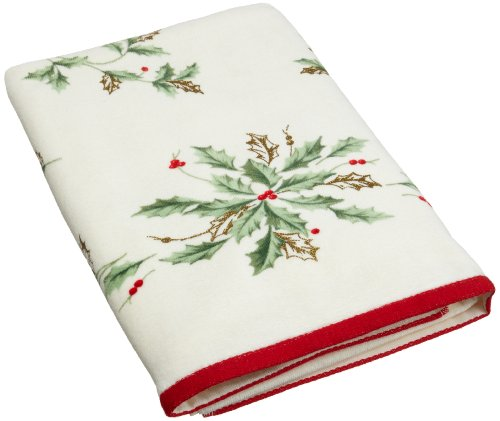 Lenox Holiday Printed Bath Towel (Washcloth Holiday)
