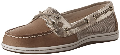 Sperry Top-Sider Firefish Boat Shoe Linen Gold