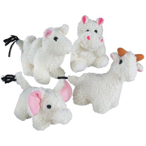 Zanies Soft Plush Fleecy Friend Dog Toy, Camel, 6-Inch, My Pet Supplies