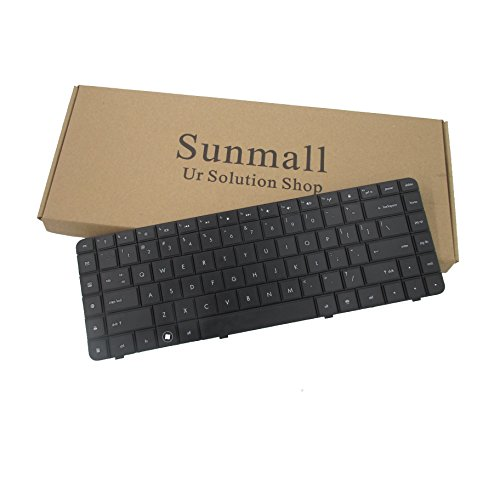 Price comparison product image Sunmall Laptop Replacement Keyboard for HP Compaq Presario G56 G62 CQ56 CQ62 Series Black US Layout