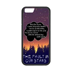 iPhone 6 Protective Case -Quotes from The Fault in Our Stars Hardshell Cell Phone Cover Case for New iPhone 6 by mcsharks