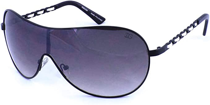 Shield Sunglasses Over Sized Design Lightweight Frame Gradient Lens UV 400