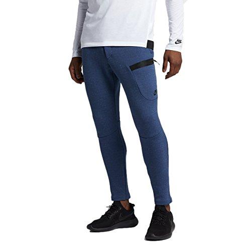 (Nike Sportswear Tech Fleece Men's Pants Coastal Blue/Heather/Black 805218-423 (Size XL) )