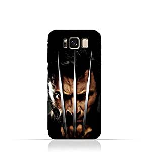 Samsung Galaxy S8 Plus TPU Protective Silicone Case with Wolverine Design