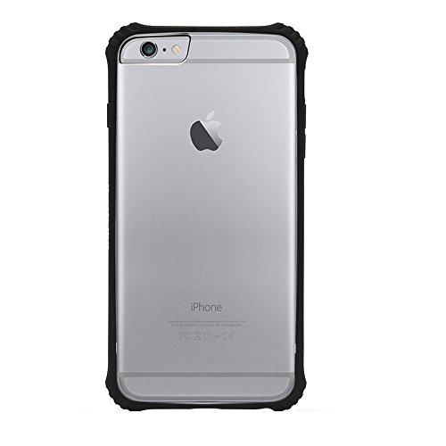 newest collection 05c6d b7982 iPhone 6s Plus Case - Black Survivor Clear Back Protective [Polycarbonate  and TPE]