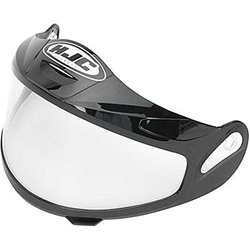 HJC Helmets Unisex-Adult Full-Face-Helmet-Style CR-05 Dual Lens Shield Helmet (Clear, One Size)