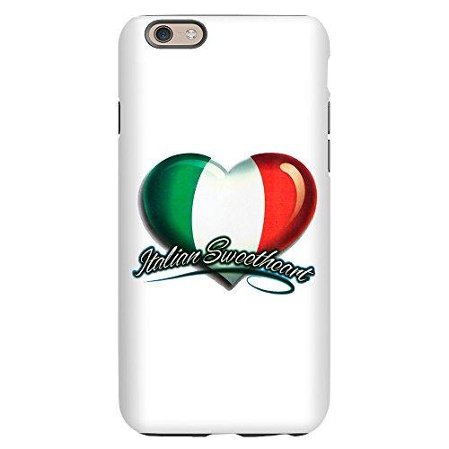 (iPhone 6 Slim Case Italian Sweetheart Italy Flag)