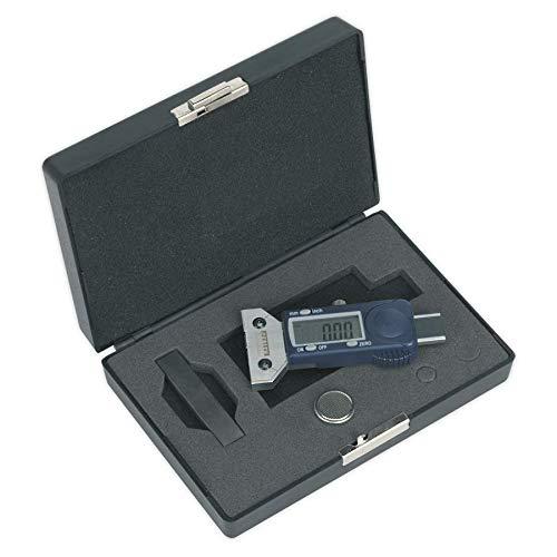 Digital del neum/ático calibrador de la Profundidad del Dibujo Sealey VS0563