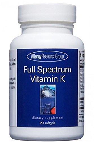 Allergy Research Group - Full Spectrum Vitamin K - 90 by Allergy Research Group