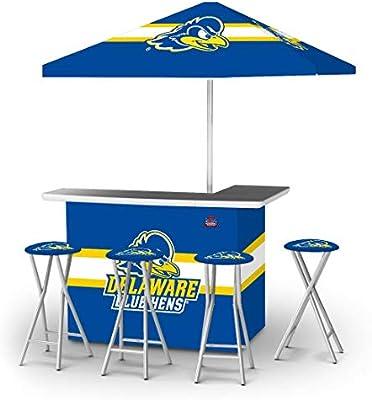 Fabulous Amazon Com Victory Tailgate Delaware Blue Hens Pop Up Bar Inzonedesignstudio Interior Chair Design Inzonedesignstudiocom