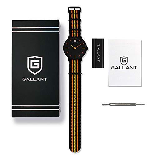 Mens Watch Men's Wristwatch Quartz Watch Minimalist Watches with Nylon Strap Waterproof Teenager Wrist Watch