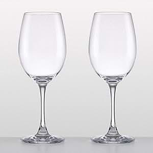 Lenox crystal napa valley pair of two chardonnay wine glasses wine glasses - Lenox colored wine glasses ...