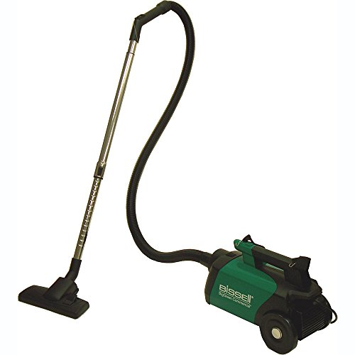 BISSELL BigGreen Commercial Canister Vacuum Black/Green BGC3000