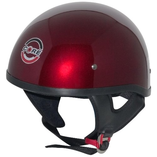 Core Cruiser-X Half Helmet (Wine, Large)