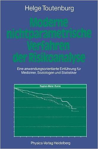 Moderne nichtparametrische Verfahren der Risikoanalyse. Eine ...