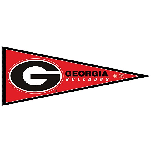 GEORGIA BULLDOGS OFFICIAL LOGO FULL SIZE FELT (Georgia Bulldogs Pennant)