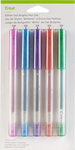 Cricut Glitter Gel Pen Set, Brights