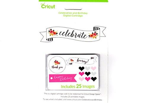 [해외]Cricut CELEBRATE 디지털 카트리지 축하 & amp; /Cricut CELEBRATE Digital Cartridge Celebration & Birthday