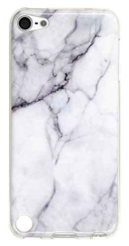 Ipod Touch 5 Case, Ipod Touch 6 Case, IiEXCEL Marble White Pattern Soft Flexible TPU Slim Fit Case for Ipod Touch 5 & Touch 6 ( Color 15 ) (Ipod Touch 5 Colors compare prices)