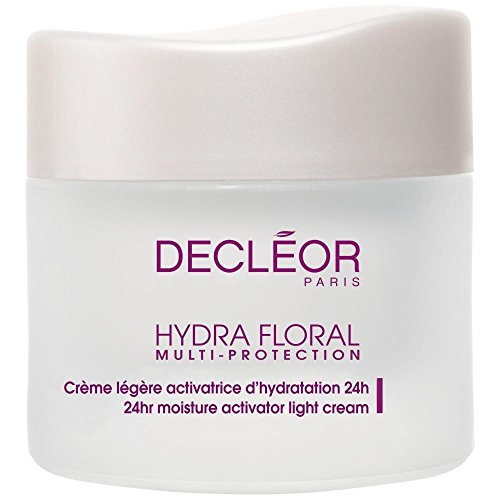 Decléor Hydra Floral Multi Protection Activator Light Cream 50ml - Pack of 6 (Eye Hydra Floral)
