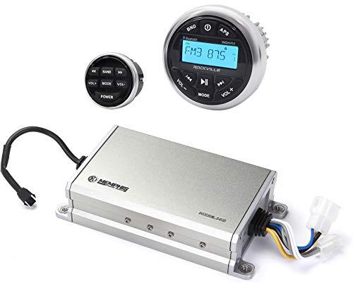 Memphis Audio 16-MXA2.140 280w 2-Channel Amplifier+Bluetooth Receiver+Remote