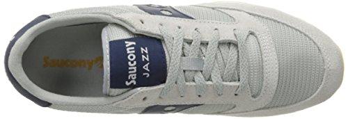Uomo S70254 Grigio Original Jazz 3 Basse Saucony Sneakers FqRnUpU