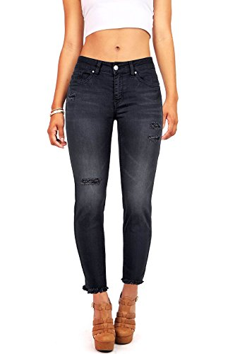 Juniors Black Denim - 9