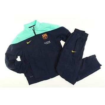 Nike - Barcelona Chandal PRESENTACION Junior 13/14 Hombre Color ...