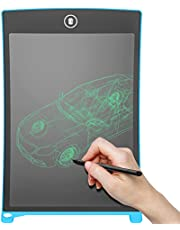 angno 8.5 inch writing tablet for drawing and learning Office Memo e-writer Pad Message Board (8.5, BLACK)