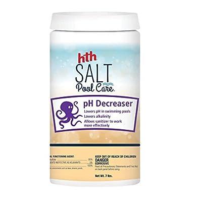 HTH 67004 pH Decreaser Salt Swimming Pool Balancer, 7 lbs : Garden & Outdoor