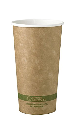 World-Centric-100-Biodegradable-100-Compostable-Paper-PLA-Lined-20-Ounce-Kraft-Coffee-Cup-Package-of-200