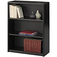 Safco Home Office 3-Shelf ValueMate Economy Bookcase - Black