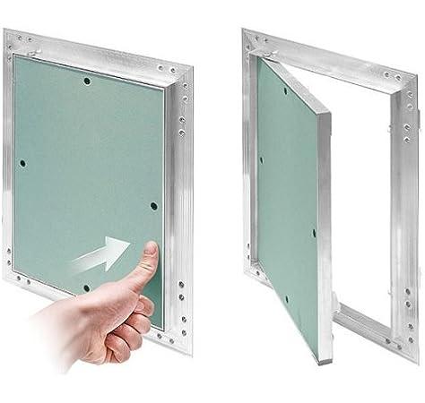 MKK-shop 200 x 300 mm para yeso 12,5 mm KRAL4 pladur 20 x 30 cm de mantenimiento de limpieza tapa con cierre de aluminio-marco de menta verde kit: Amazon.es: Bricolaje y herramientas