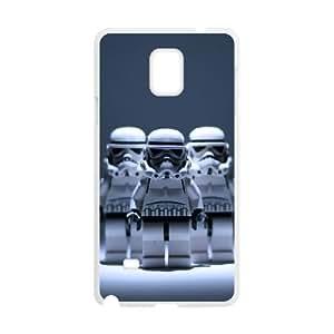 Samsung Galaxy Note 4 Cell Phone Case White Star Wars Cxrtl