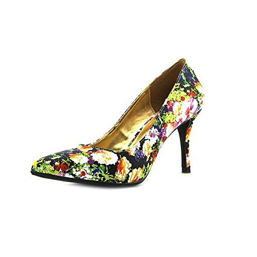 143 Girl Owanda Women US 8 Multi Color Heels