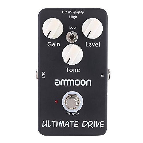 ammoon AP-02 Ultimate Drive Overdrive Guitar Effect Pedal True (Drive Guitar Pedal)