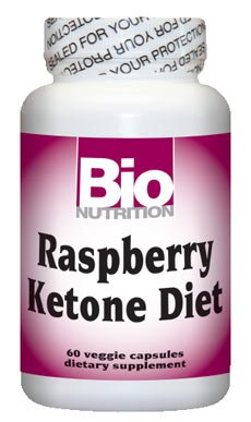 Bio Nutrition Inc Raspberry Ketone Diet Vegetarian Capsules, 3 pack For Sale