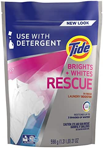 Stain Removers: Tide Brights + Whites Rescue