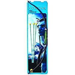 Avatar Costume Accessory Navi Bow And Arrow Set, Black, One Size
