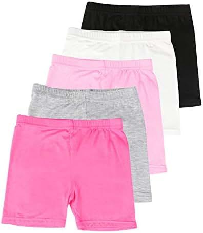 BOOPH Girls Dance Shorts Breathable Bike Short for Sports Dance Underdress 2-10Y