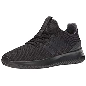 adidas Cloudfoam Ultimate Black Running Shoes (BC0018)