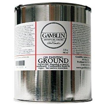 - Gamblin Oil Painting Ground 32 oz.