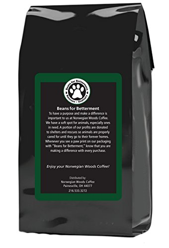 Ground Coffee by Norwegian Woods Coffee, Premium Reserve Blend, Great and Smooth Tasting Medium-Dark Roast Blend, 12 Ounce Bag, 100% Premium Arabica Beans by Norwegian Woods Coffee (Image #1)