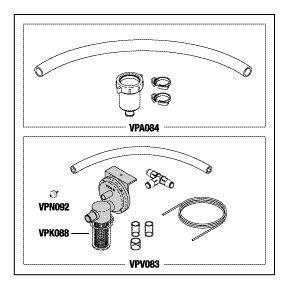 Sink Drain Valve Assembly VPK082 by Replacement Parts Industries RPI (Image #1)