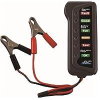CARTMAN 12V Probador de batería y alternador de automóvil - Pruebe el estado de la batería y la carga del alternador (indicación LED)
