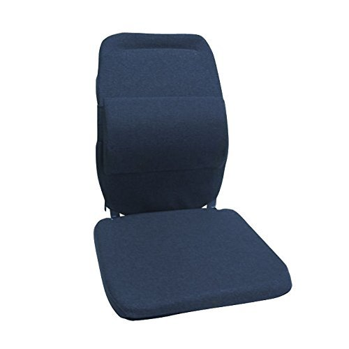 Sacro-Ease Back and Lumbar Support Car Cushion with Extra Padding by ZB McCarty's Sacro Ease