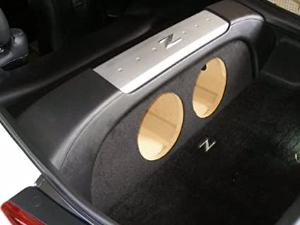 """ZEnclosures 2-12/"""" Subwoofer Sub Speaker Box for the Nissan 350z Coupe"""