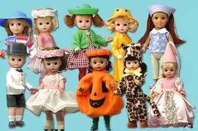 2003 Madame Alexander McDonalds Happy Meal Dolls Complete Set 10 Figures