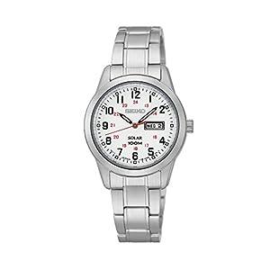41Gcxx9pnmL. SS300  - Seiko Women's Silvertone Solar Watch